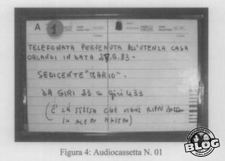 Audiocassetta Mario giugno