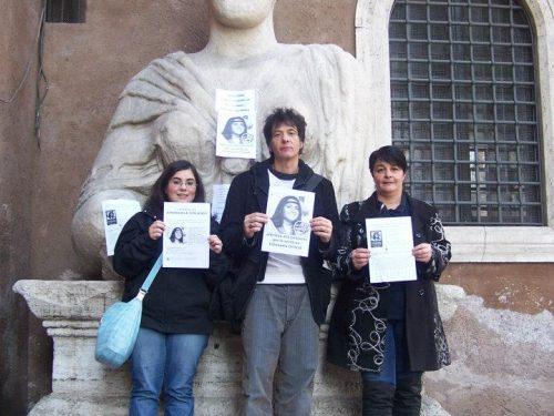 """Pasquino e le altre statue: """"Verità su Emanuela!"""""""