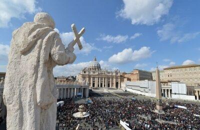 Incontro a Piazza San Pietro