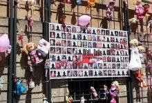 Femminicidio: inaugurato a Roma il Muro delle Bambole