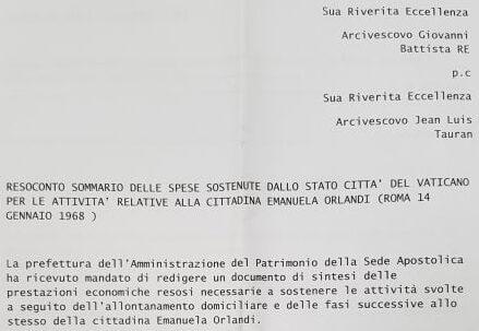 """Fittipaldi: """"Ho trovato un documento uscito dal Vaticano"""""""