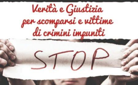 Penelope Italia: manifestazione a piazza Montecitorio per le persone scomparse