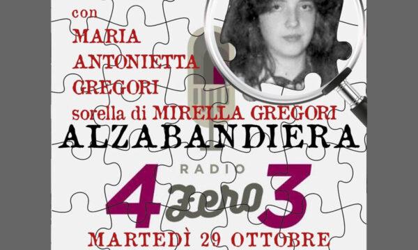 Intervista a Maria Antonietta Gregori
