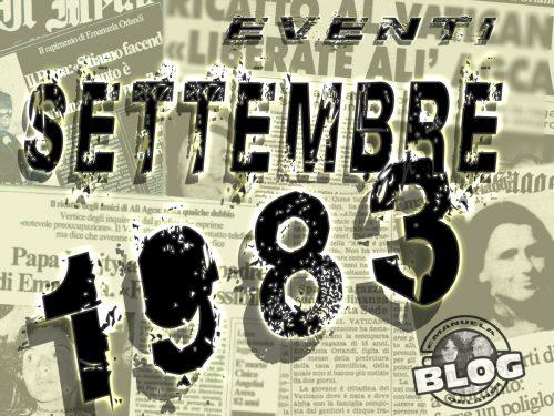 Settembre 1983. Mirella&Emanuela