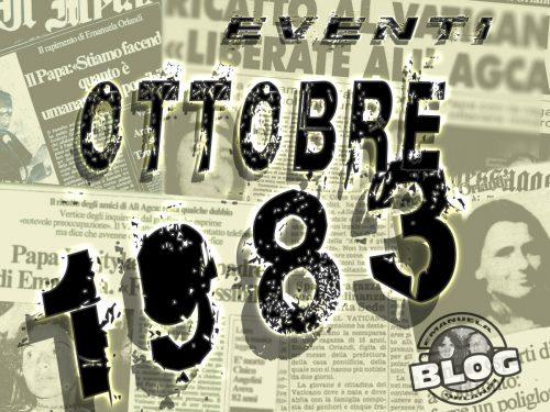 Ottobre 1983. Mirella&Emanuela