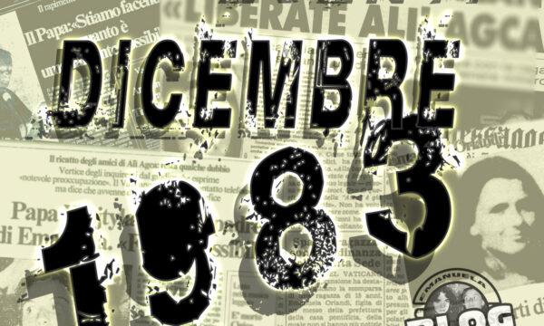 Dicembre 1983. Mirella&Emanuela