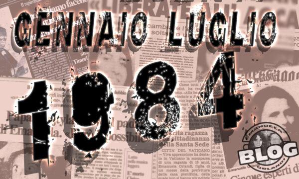 1984 Gennaio Luglio. Mirella&Emanuela